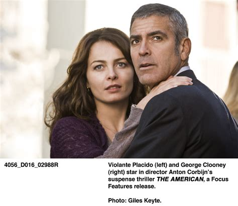 The American The American Images George Clooney Collider