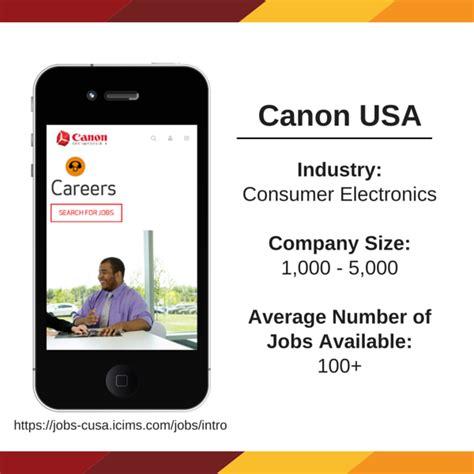 canon usa canon usa we re a member because directemployers
