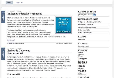 themes en espanol theme en espa 241 ol losemymind ii