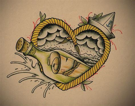 message in a bottle tattoo message in a bottle like the this for ideas tattoos