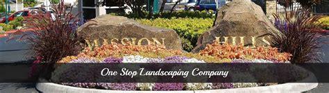 one stop landscaping landscape management