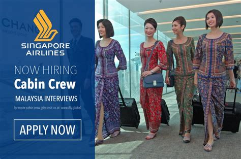 airlines recruiting cabin crew singapore airlines cabin crew recruitment in malaysia