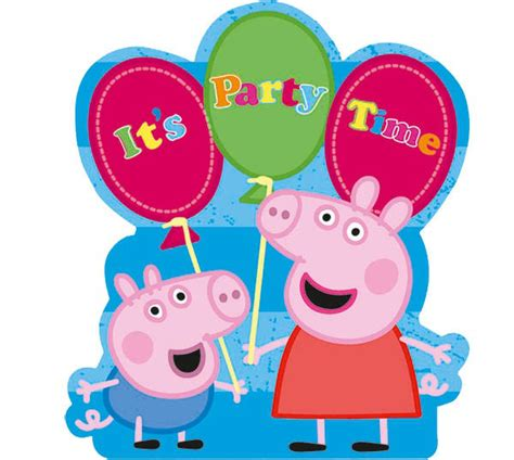carteles de cumpleaos de pepapig invitaciones de cumplea 241 os de peppa pig para imprimir las