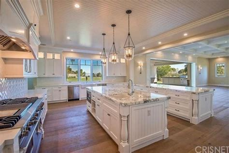 6 Foot Kitchen Island kylie jenner scoops up 12 million hidden hills home