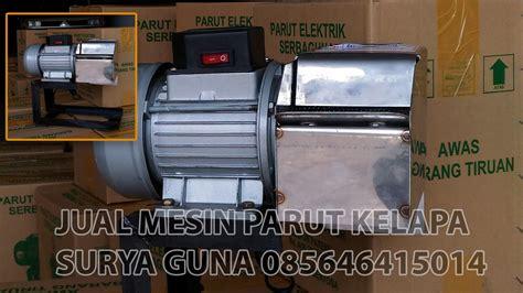 Mesin Parut Listrik Untuk Kelapa Dan Ubi Murah Steinless Steel mesin parut kelapa listrik mini multifungsi murah anti karat suryaguna distributor alat