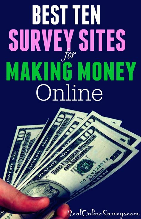 Earn Real Money For Taking Online Surveys - best 25 survey websites ideas on pinterest