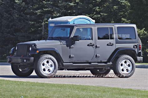 chrysler des source rep 233 r 233 un prototype de jeep wrangler 2018 muni d une