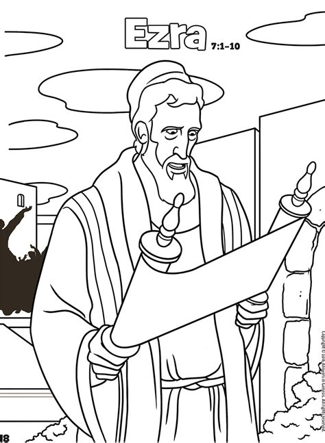 free bible coloring pages ezra ezra coloring pages