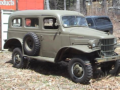 old military vehicles 1942 dodge carryall vintage military vehicles