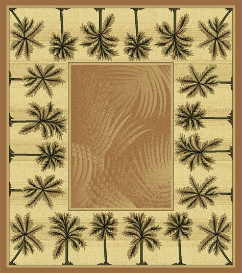 palm tree area rugs mustard bahamas palm tree rug 2321 bahamas rugs