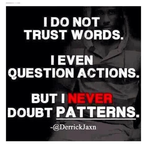 trust actions  words quotes quotesgram