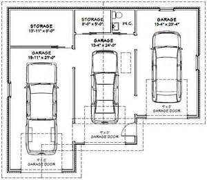 3 Car Garage Size 3 Car Garage Dimensions Images