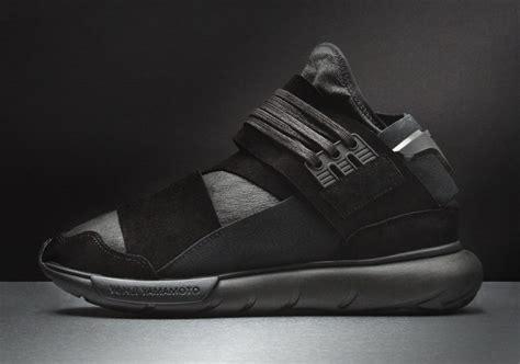 Premium Adidas Y3 Qasa High Black White 1 adidas y 3 qasa high premium black sneaker bar