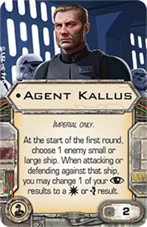 imperial assault card template kallus unique upgrade cards x wing miniatures