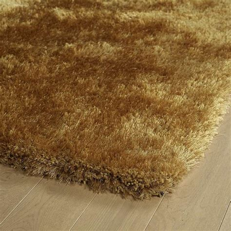 Gold Shag Rugs by Kaleen Rugs Posh Shag Psh01 05 Gold Area Rug Carpetmart