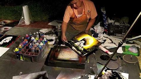 spray paint mexico spray paint artist barcelo resort cancun mexico