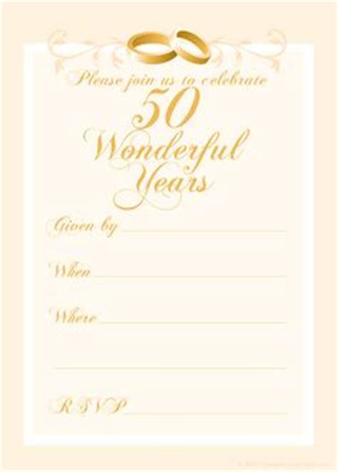 Free 50th Wedding Anniversary Invitations Templates Wedding Mom And Wedding Anniversary Free Printable 50th Wedding Anniversary Invitation Templates