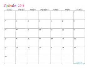 Calendar 2018 Editable Custom Editable Free Printable 2018 Calendar Titus