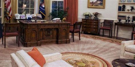 Karpet Oval donald dandani ruang oval gedung putih dengan nuansa