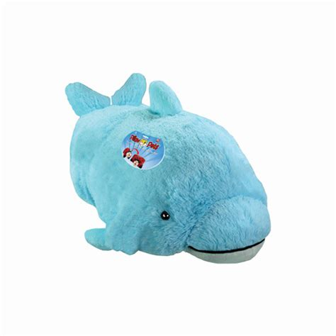 Pillow Pet Dolphin by As Seen On Tv Pillow Pet Squeaky Dolphin Walmart