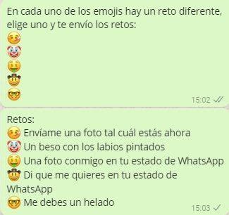 cadenas para el whatsapp de retos cadenas de retos hot para whatsapp juegos para whatsapp