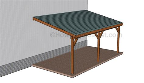 building an attached carport how to build an attached carport howtospecialist how
