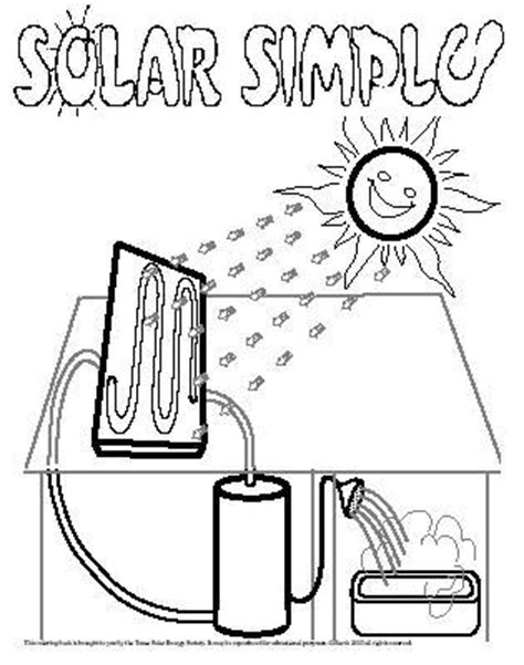 Solar Energy Coloring Pages renewable energy coloring pages coloring pages
