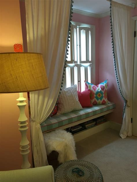 Reading Nook Pillows by Reading Nook With Custom Bench Cushion And
