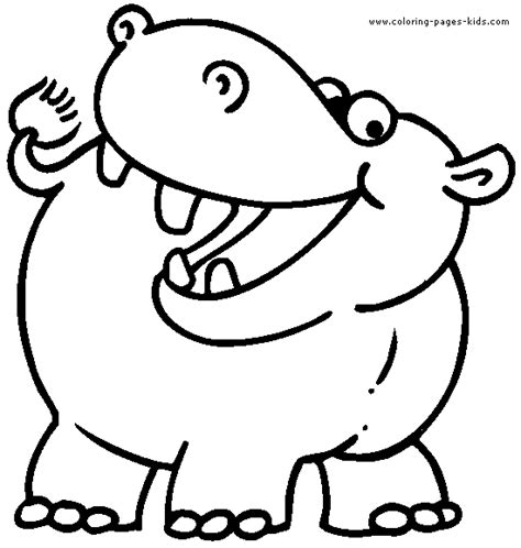 coloring pages hippo hippo coloring pages