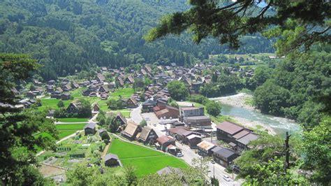 3d House riverside village hida shirakawa go riverside village