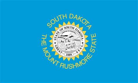 south dakota 50 state flags of the usa 1