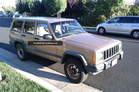 1999 Jeep Se 1999 Jeep Se Sport Utility 4 Door 4 0l