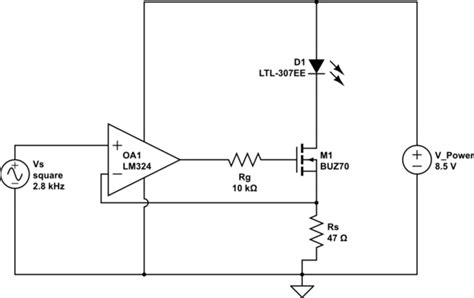 mosfet gate resistor equation op mosfet oscillation with gate resistance electrical engineering stack exchange