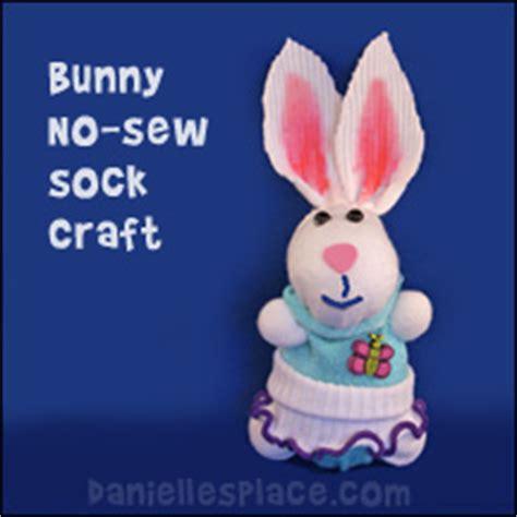 sock bunny craft kit sock crafts for