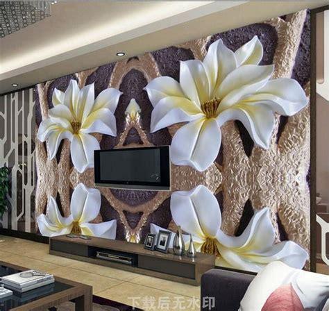 large flower wall murals wallpaper large mural papel de parede flowers relief mural flower wallpaper 3d wallpaper murals