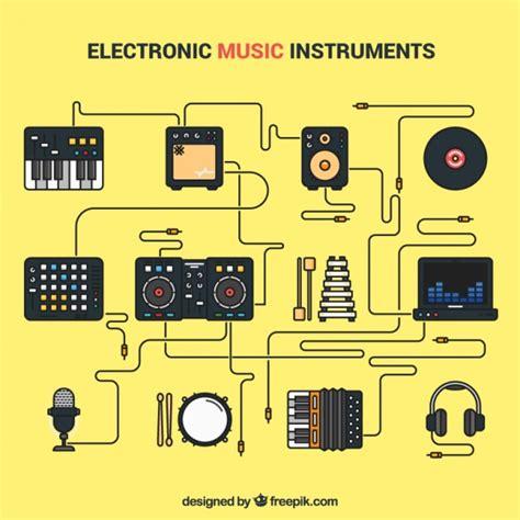 imagenes de instrumentos musicales electronicos instrumentos musicales electr 243 nicos descargar vectores