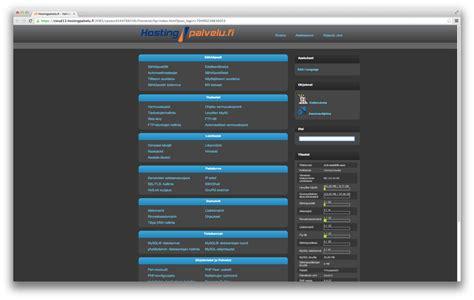 owncloud themes exles web hosting hostingservice fi