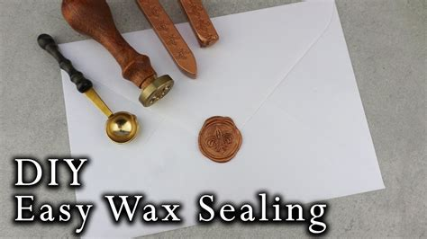 how to wax seal envelopes diy wedding invitations