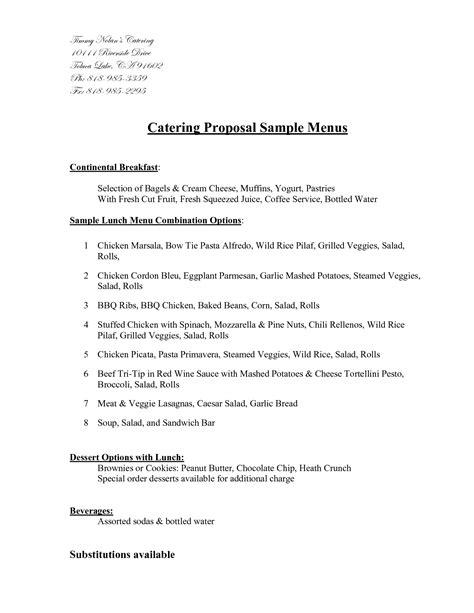 simple contract agreement sample best of sample catering contract