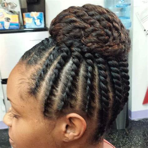 flat twist bun hairstyles pinterest discover and save creative ideas