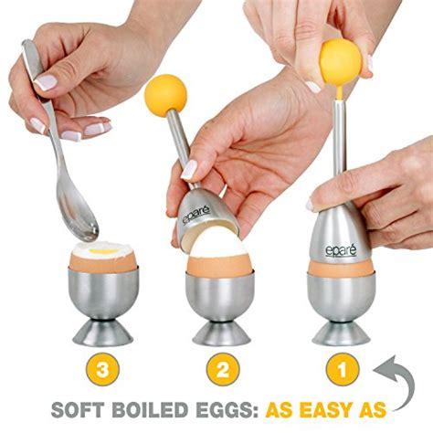 Egg Strainer 5 Pieces Set epar 233 egg cracker topper set soft boiled eggs import it all