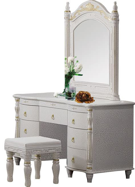 queen anne white oval mirror bedroom vanity set table popular mirrored stool buy cheap mirrored stool lots from