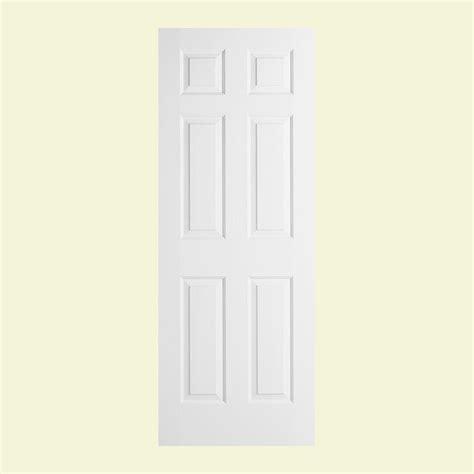 jeld wen 30 in x 78 in woodgrain 6 panel primed molded jeld wen 30 in x 78 in woodgrain 6 panel solid core
