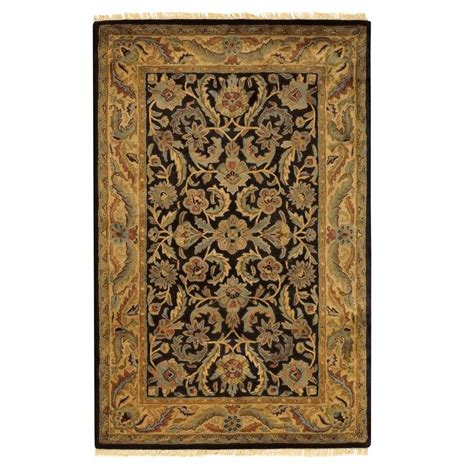 10 x 15 foot rugs home decorators collection chantilly black 12 ft x 15 ft