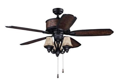 turn of the century fans turn of the century 174 deer valley 52 in textured black