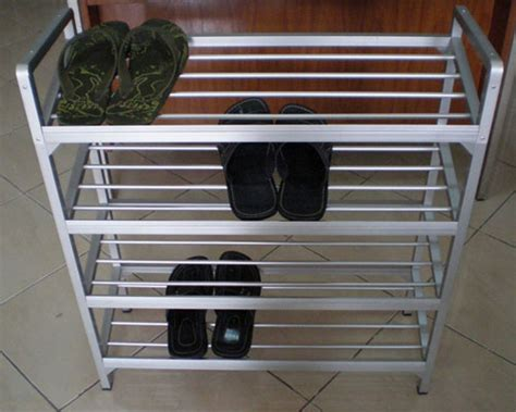 Rak Sepatu Dari Aluminium sinar maju aluminium surabaya