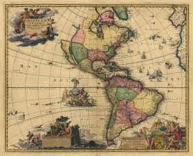 america map 1700 1700 s map of south america canada mexico antique
