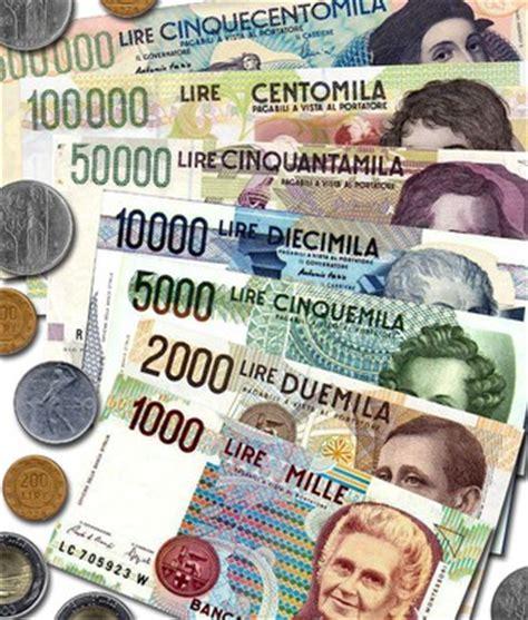 cambio lire d italia non si accettano pi 249 pagamenti in lire moruzzi