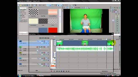 sony vegas pro green screen tutorial how to fly like super man green screen sony vegas pro9 0