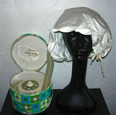 Cool Cap Hair Dryer hair dryer cap vintage schick tote n hair dryer